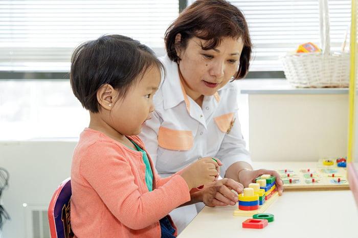 Развивающее занятие с ребенком 4 лет