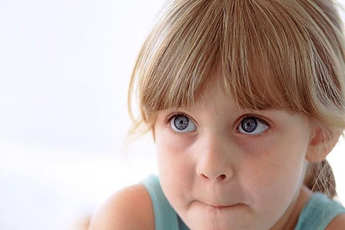 Девочка не хочет говорить