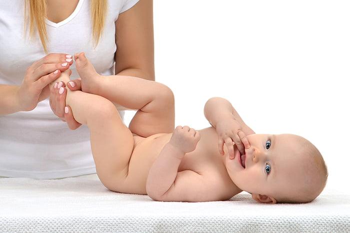 Массаж пятимесячному ребенку