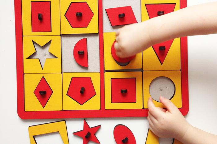Детская игра на сопоставление для малышей 3-4 лет