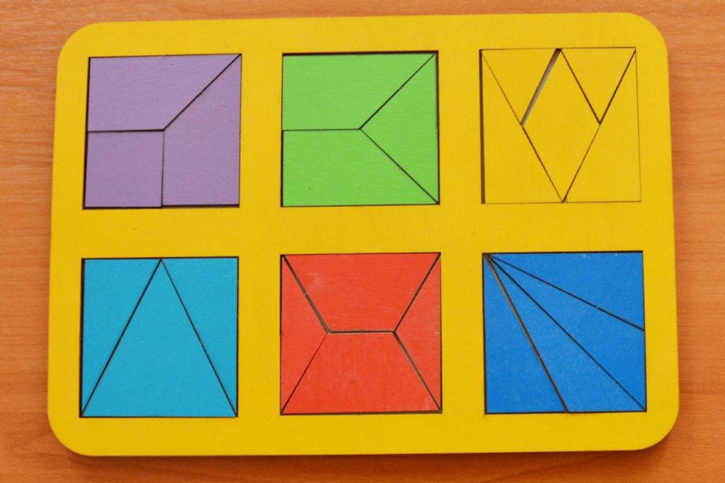 Пособие «Сложи квадрат» по методике Никитиных