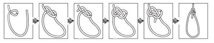 Схема узла булинь