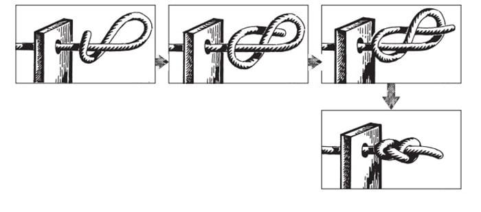 """Схема узла """"Восьмерка"""""""