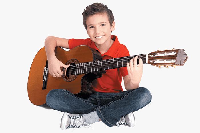 Эстрадная позиция для игры на гитаре
