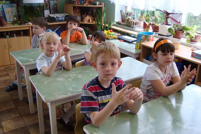 Пальчиковая гимнастика в первом классе