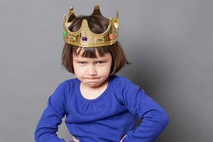 Девочка в короне