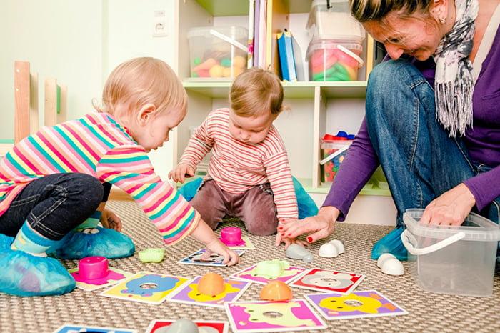 Игра на развитие памяти у малышей