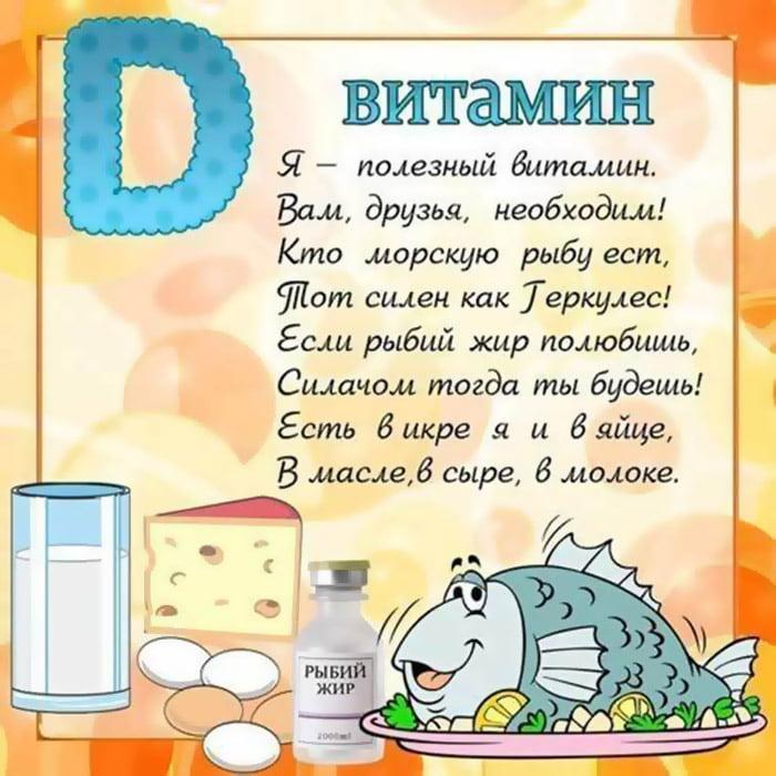 Загадка про витамин D