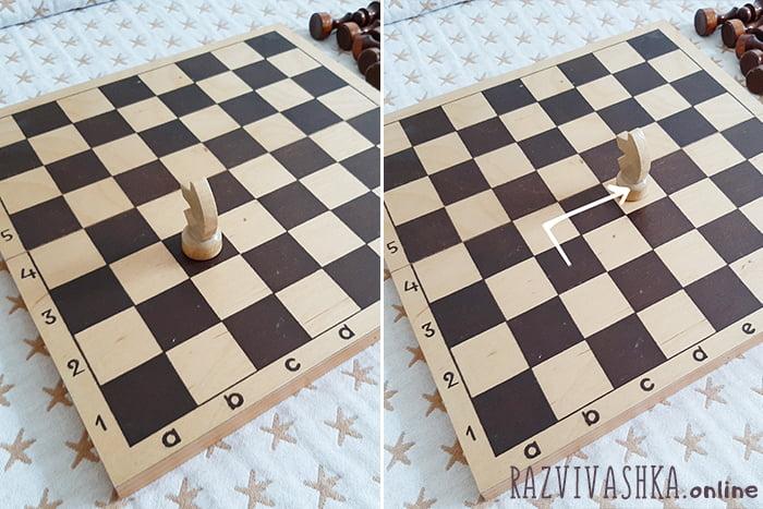 Передвижение коня по шахматной доске