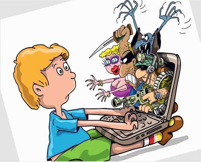 Опасности для ребенка в интернете