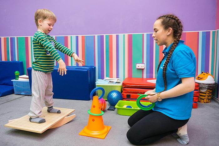 Занятие с ребенком по методике Бильгоу