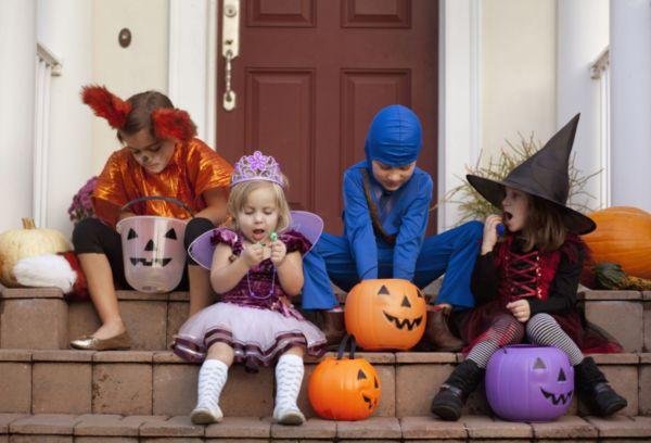 Хэллоуин дети