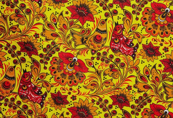 Хохломская роспись рябина
