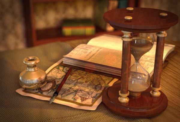 Песочные часы в древности