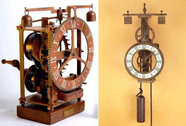 Первые механические часы