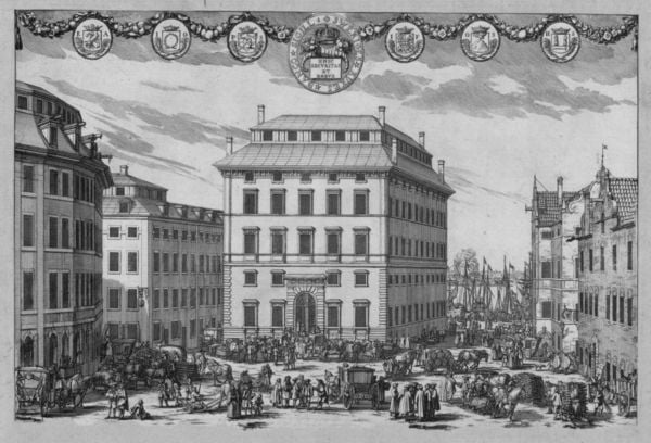 Первый Центральный банк в Швеции