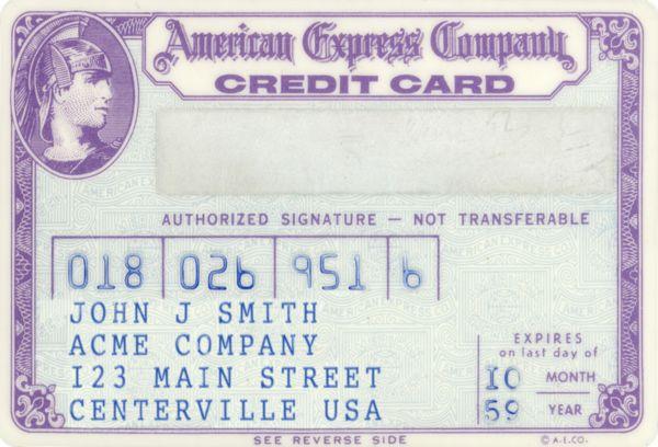 Первая кредитная карточка