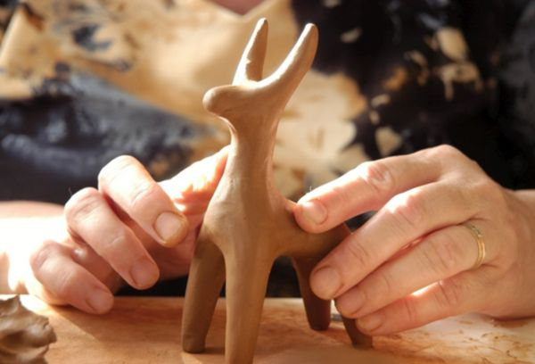 Изготовление игрушек из глины
