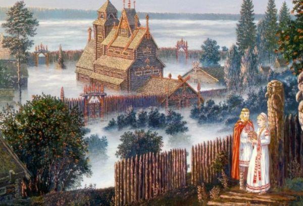 Древняя Русь рисунок