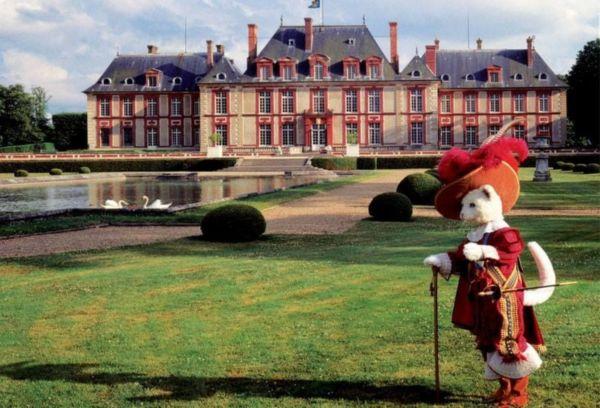 Замок Бретей Франция