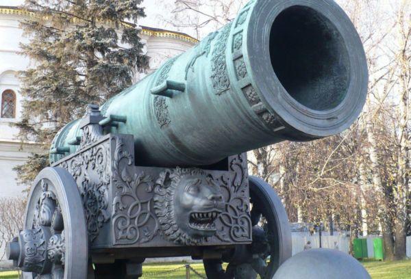 Калибр царь пушки