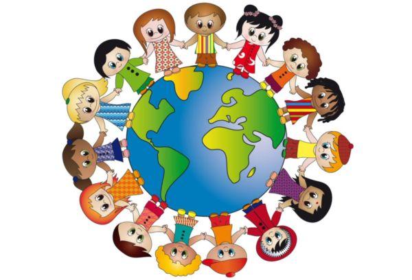 Дети и планета земля