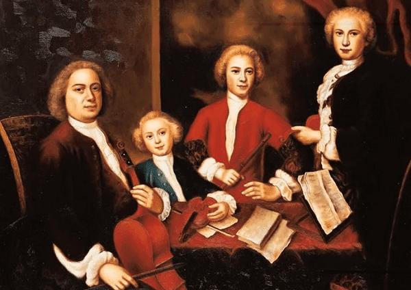 Иоганн Себастьян Бах с семьей