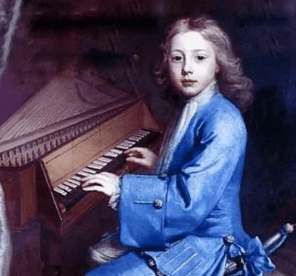 Иоганн Себастьян Бах в детстве