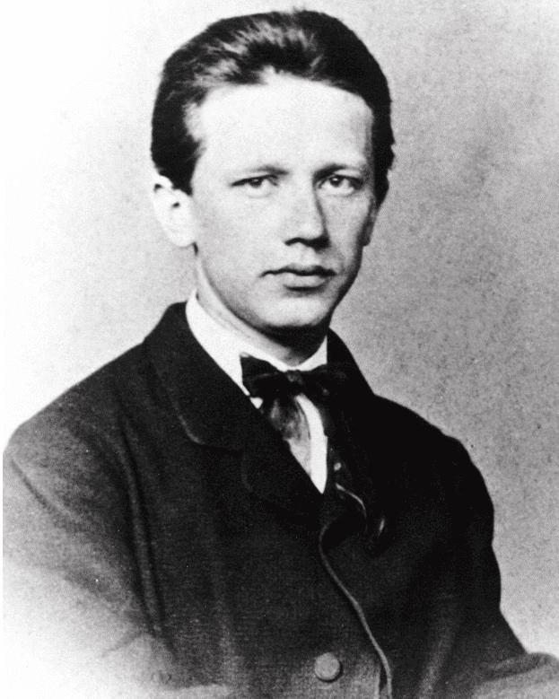 Чайковский Петр Ильич в молодости