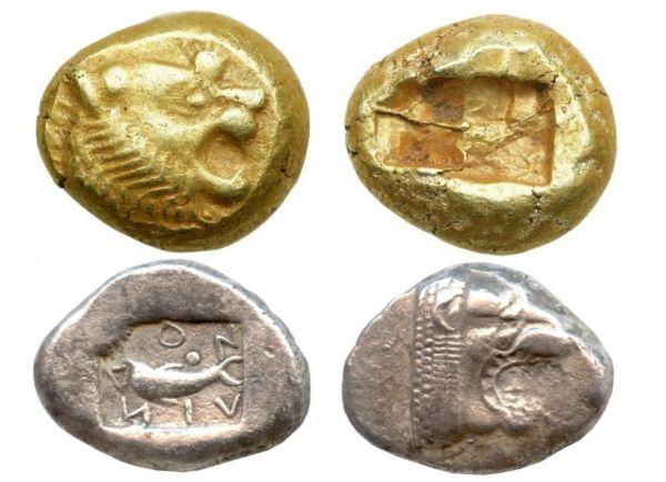 Самые древние монеты
