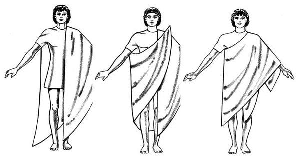 Греческая туника Хитон