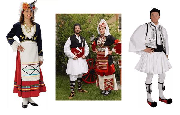 Греческий народный костюм
