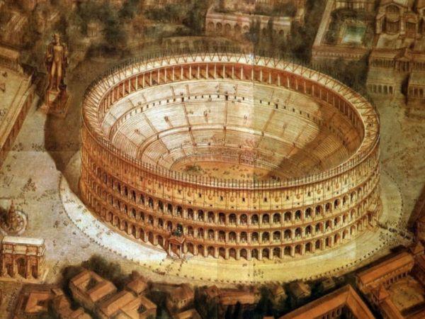 Древний Рим и его Колизей