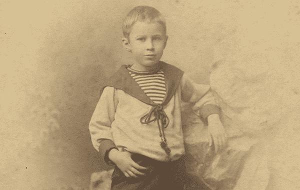 Сергей Прокофьев в детстве