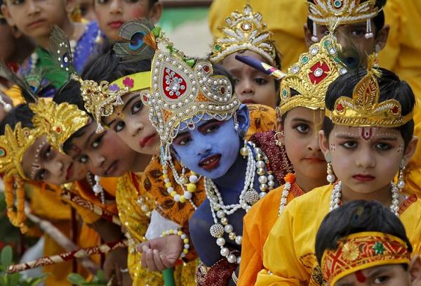 Кришна-Джанмаштами в Индии