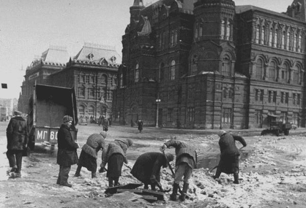 Москва после войны