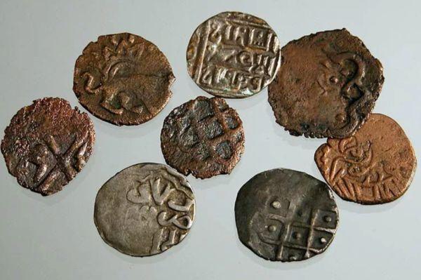 Первые металлические монеты