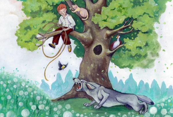 Петя и волк симфоническая сказка