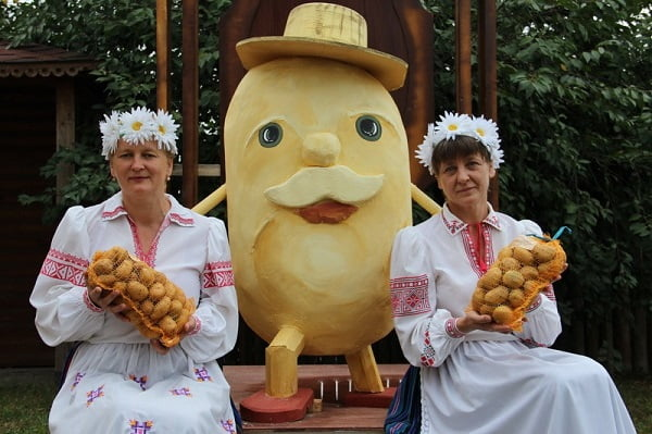 Праздник Бульбаш в Белоруссии