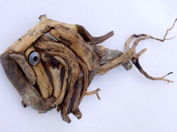 Рыбка из коряги