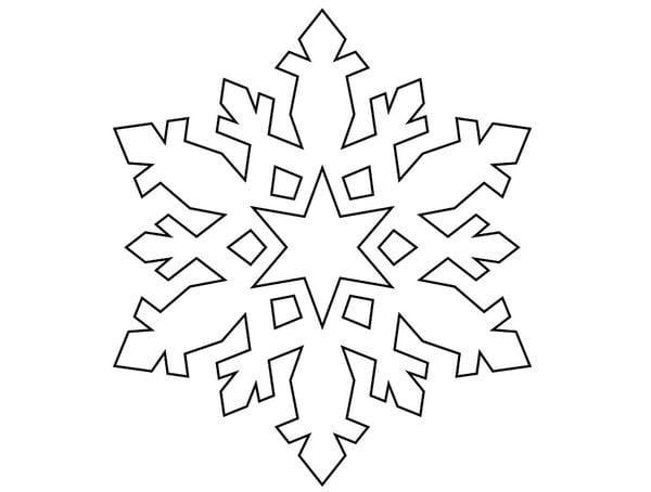 Как сделать объемную снежинку из бумаги: пошаговые схемы для вырезания своими руками