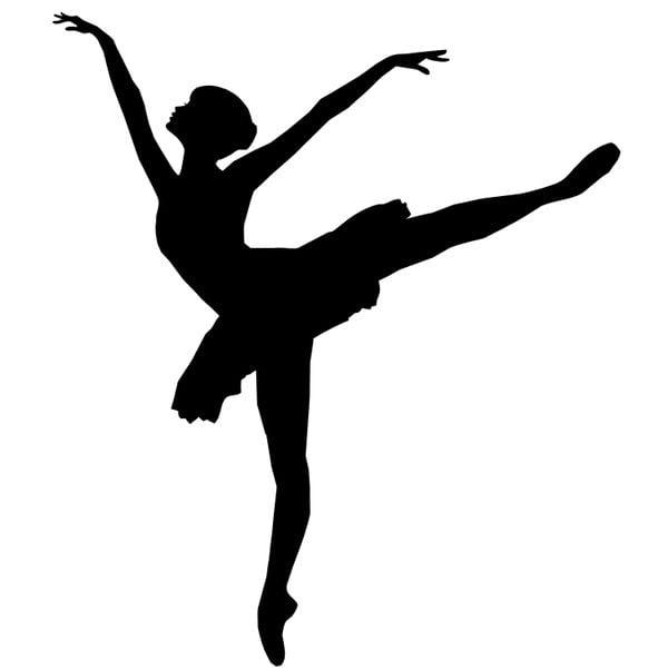 Шаблон балерины 6