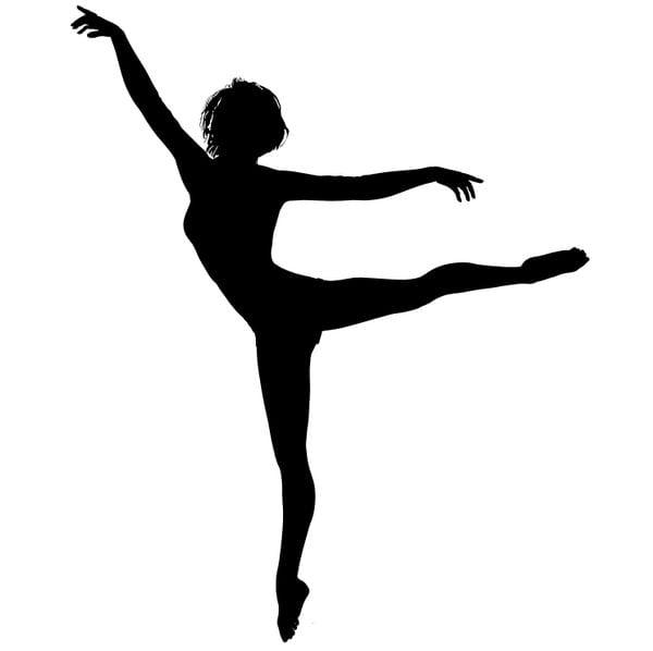 Шаблон балерины 5