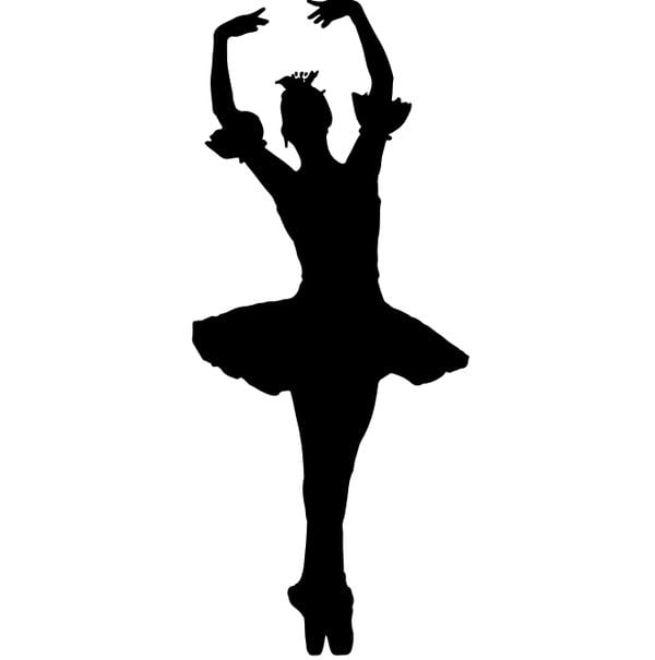 Шаблон балерины 4