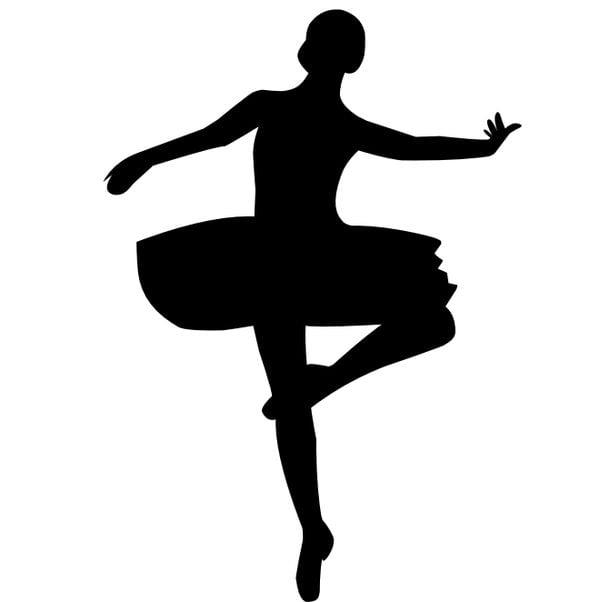 Шаблон балерины 3