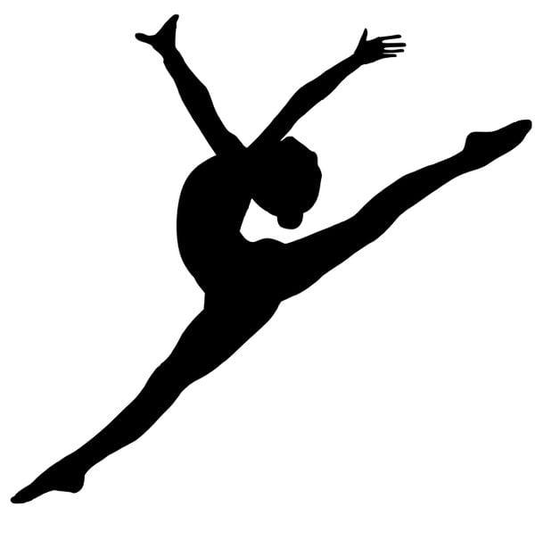 Шаблон балерины 2