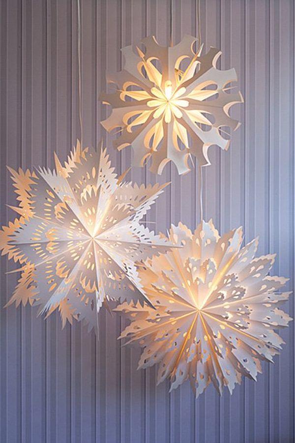 Снежинка-Фонарик 1