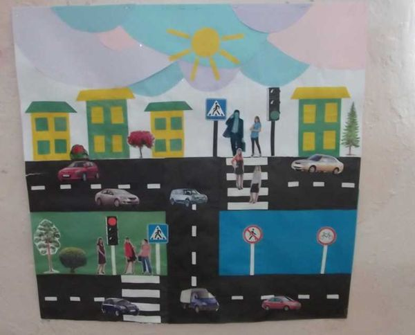 Поделка из бумаги дорожное движениеПоделка к правилам дорожного движенияПоделка правила дорожного движения