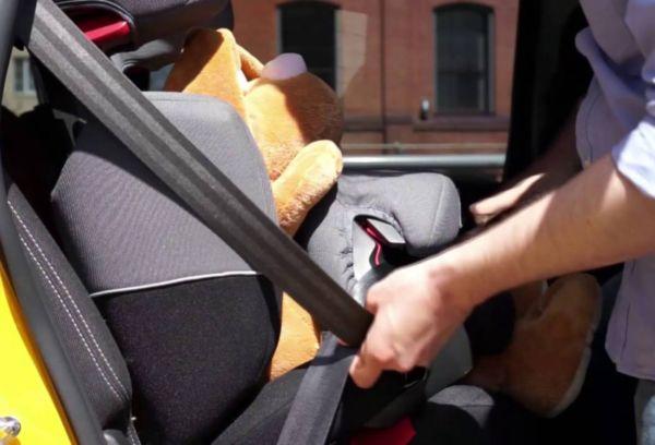 Автокресло в такси