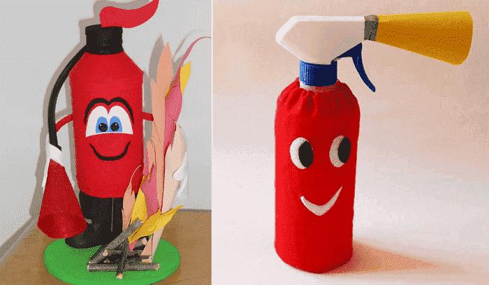 Веселый огнеборец